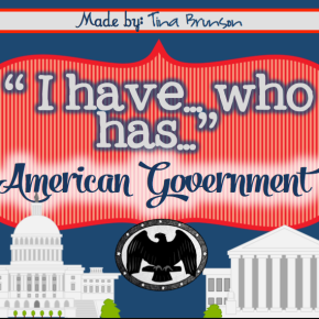 'I have, Who has?' TPTGames
